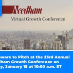 Phunware to Pitch at the 23rd Annual Needham Growth Conference on Friday, January 15 at 10:00 a.m. ET